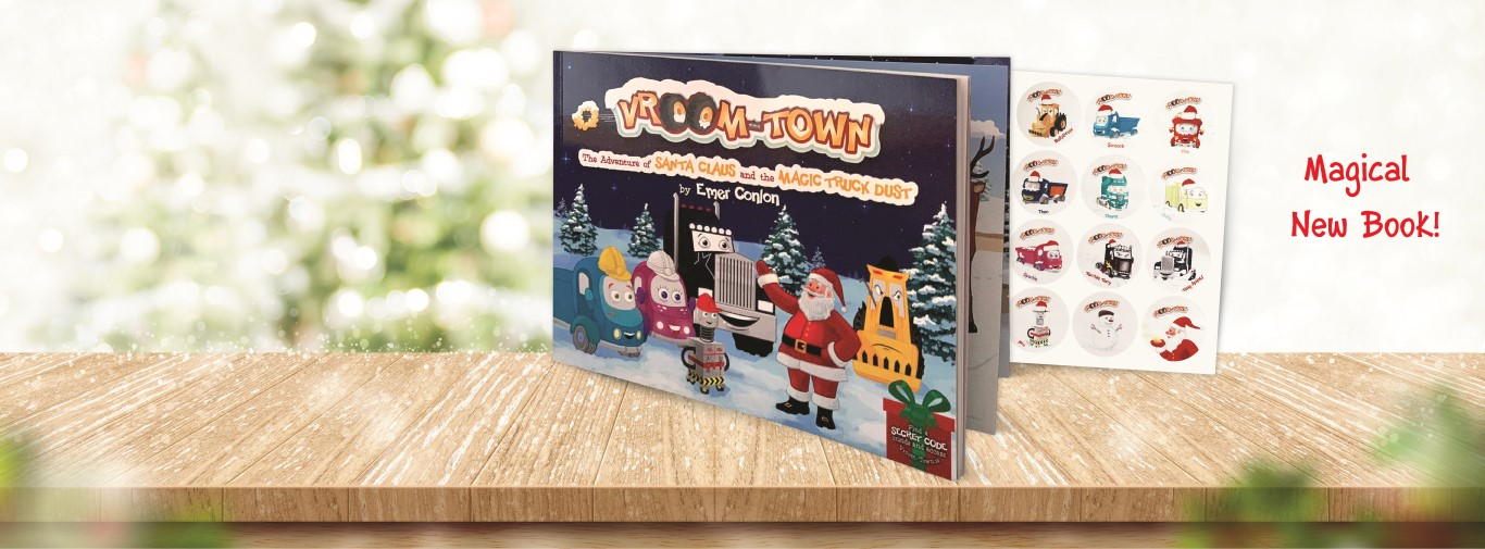 Vroom-Town Facebook Banner Sept 2019 with New Book Medium