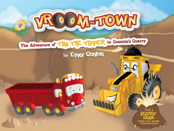 The Adventure of Tim The Tipper in Quentin's Quarry