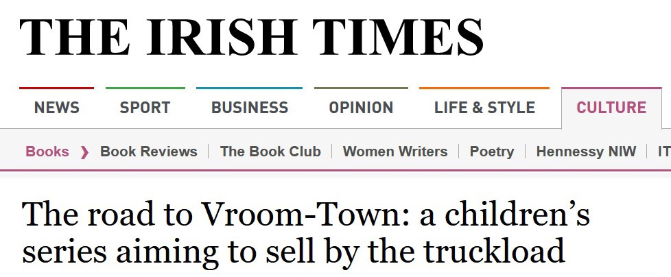 Vroom-Town in The Irish Times