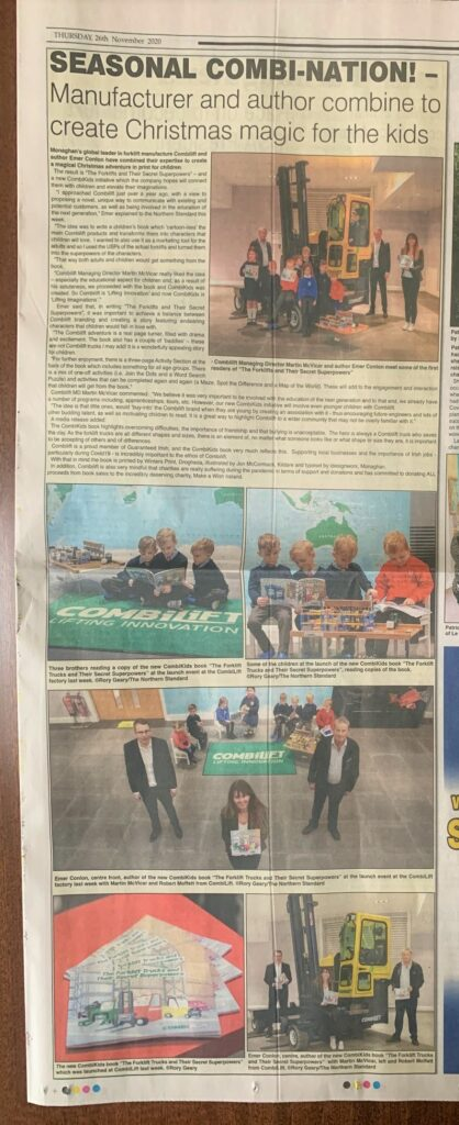 CombiKids in The Northern Standard