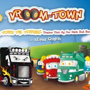 Eachtra Terry the Terrible Tractor Unit ag Cur Gach Rud Bunoscoinn