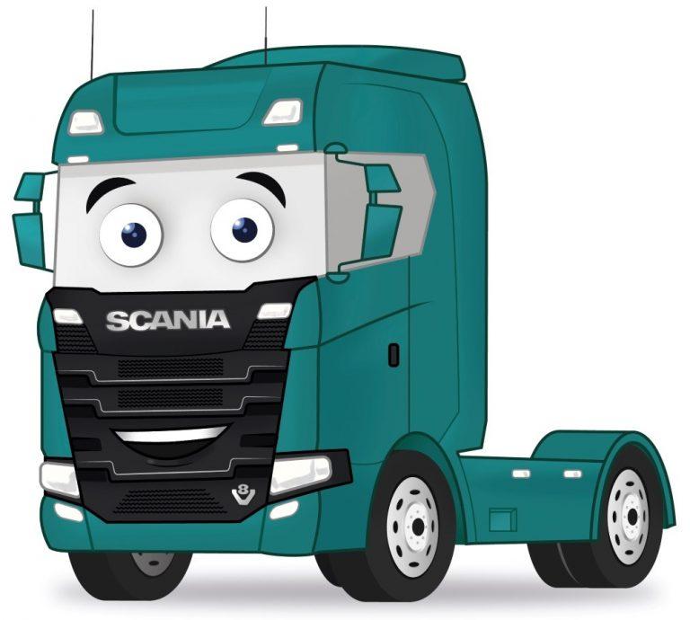 Vabis the Scania Truck