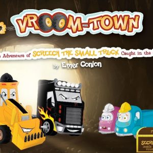 The Adventure of Screech the Small Truck Caught in the Cave